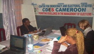 Meeting of CDES Cameroon field staff